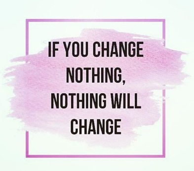 change nothing